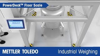 See how Powerdeck™ Increases Production Yields - METTLER TOLEDO Industrial - en