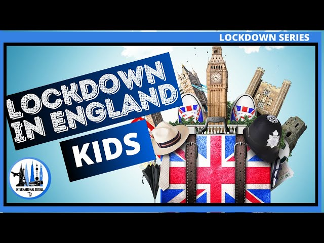 Kids lockdown interview England coronavirus.