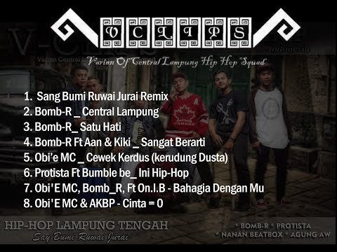 Album Hip-Hop Lampung Tengah V-Clips (varian Of Central Lampung Hip-Hop Squad)