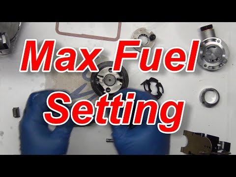 CAV DPA Build Part 2 Max Fuel Setting Pump Guts YouTube