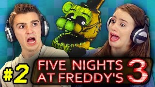 FIVE NIGHTS AT FREDDY'S 3 #2 (React: Gaming)