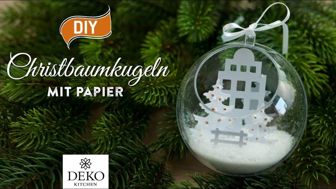 Diy Weihnachtdeko Wunderschone Christbaumkugeln Mit