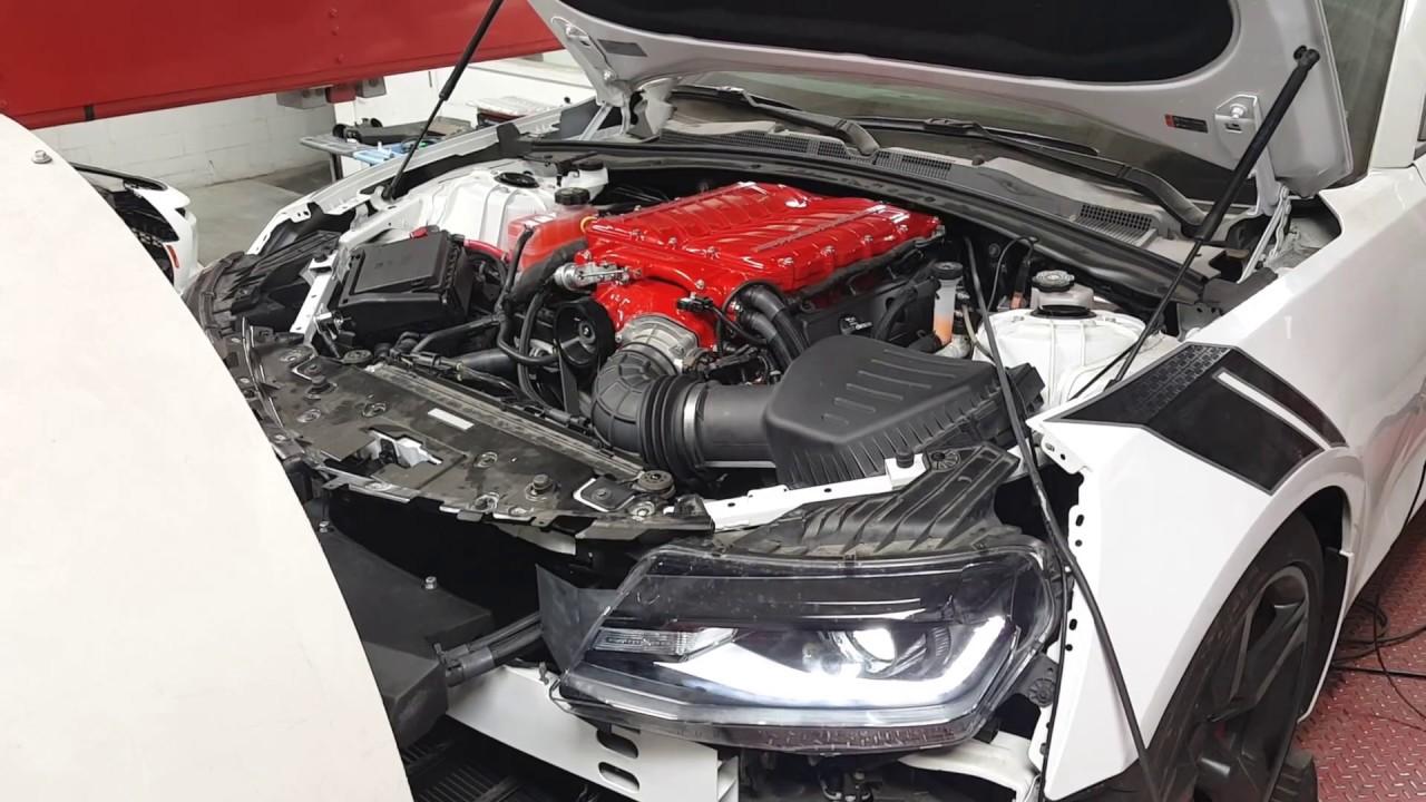 2017 Camaro 1le Whipple pull  by Virginia Speed