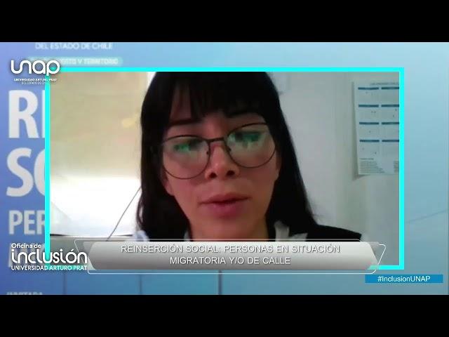 EN VIVO - CONVERSATORIO: REINSERCIÓN LABORAL, PERSONAS EN SITUACIÓN MIGRATORIA Y/O DE CALLE  - ...