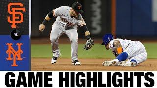 Giants vs. Mets Game Highlights (8/26/21)