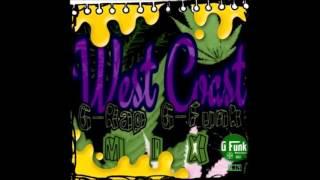 G-Funk West Coast Gangsta-rap MIX #4