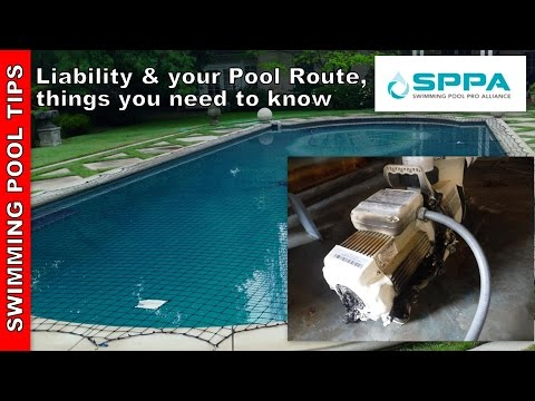 General Liability Insurance and your Swimming Pool Route - Things to Know