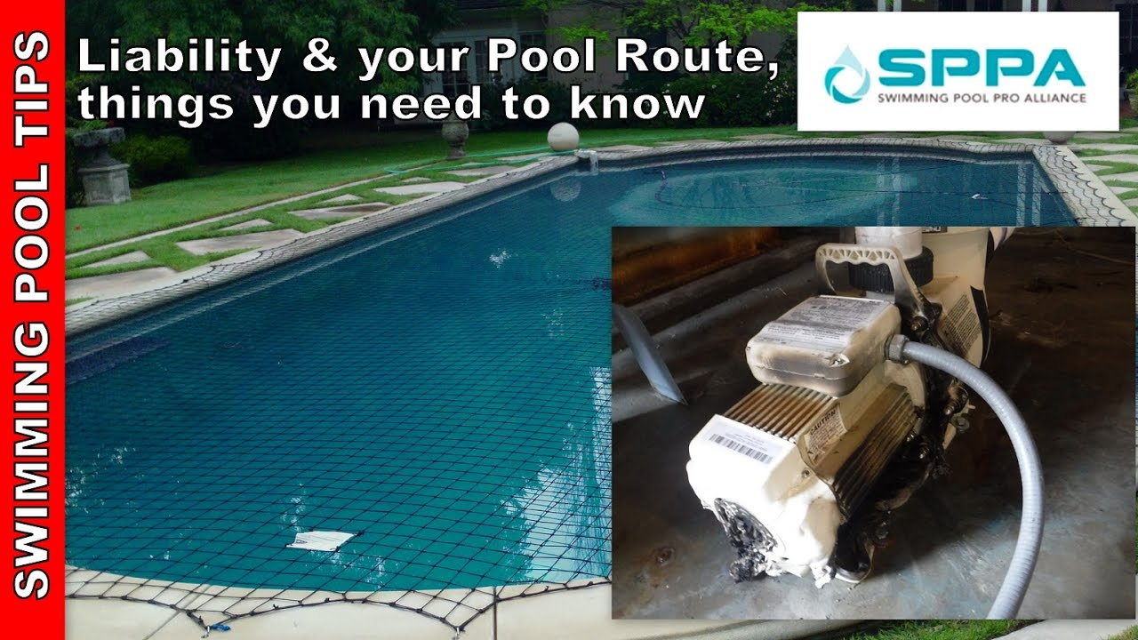 General Liability Insurance And Your Swimming Pool Route Things To Know Youtube