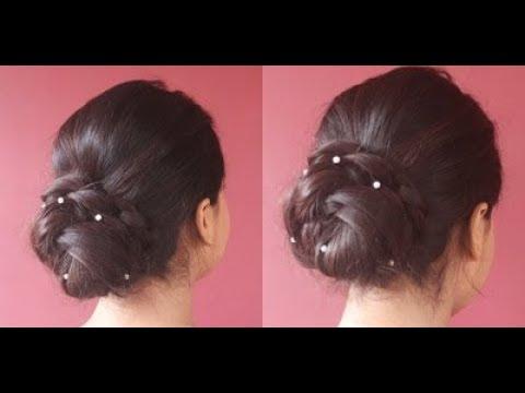 easy-diy-bun-for-thin-hair-using-banana-clutcher|asmita