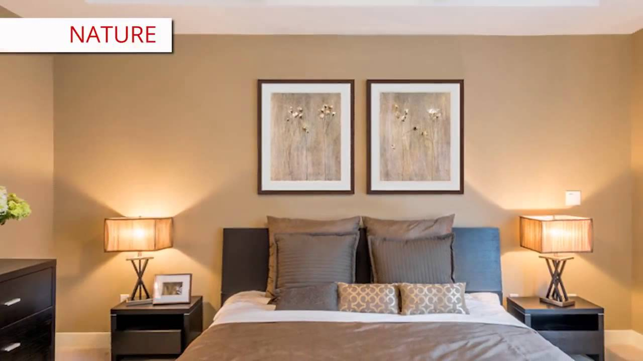 Framed Bedroom Art I Decorating Ideas I FRAMED ART TV ...