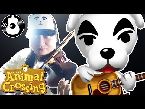 Animal Crossing - K.K. Bossa (Violin & Guitar Cover) || String Player Gamer