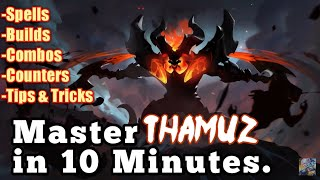 Master Thamuz in 10 Minutes | Mobile Legends Bang Bang