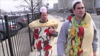Barstool Sports - Pizza Vs. Burito at Big 10 Tournament