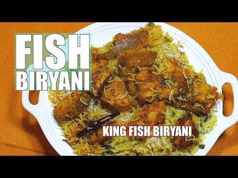 Fish Biryani - King Fish Biryani - Biryani recipe In English - Fish & Rice - Best Biryani Fish