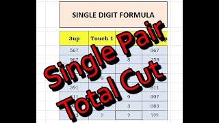Thai Total Cut 29 Draw Hit 01-10-2020