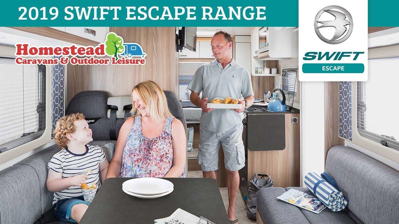 Swift Escape 694 Coachbuilt Motorhome - Homestead Caravans