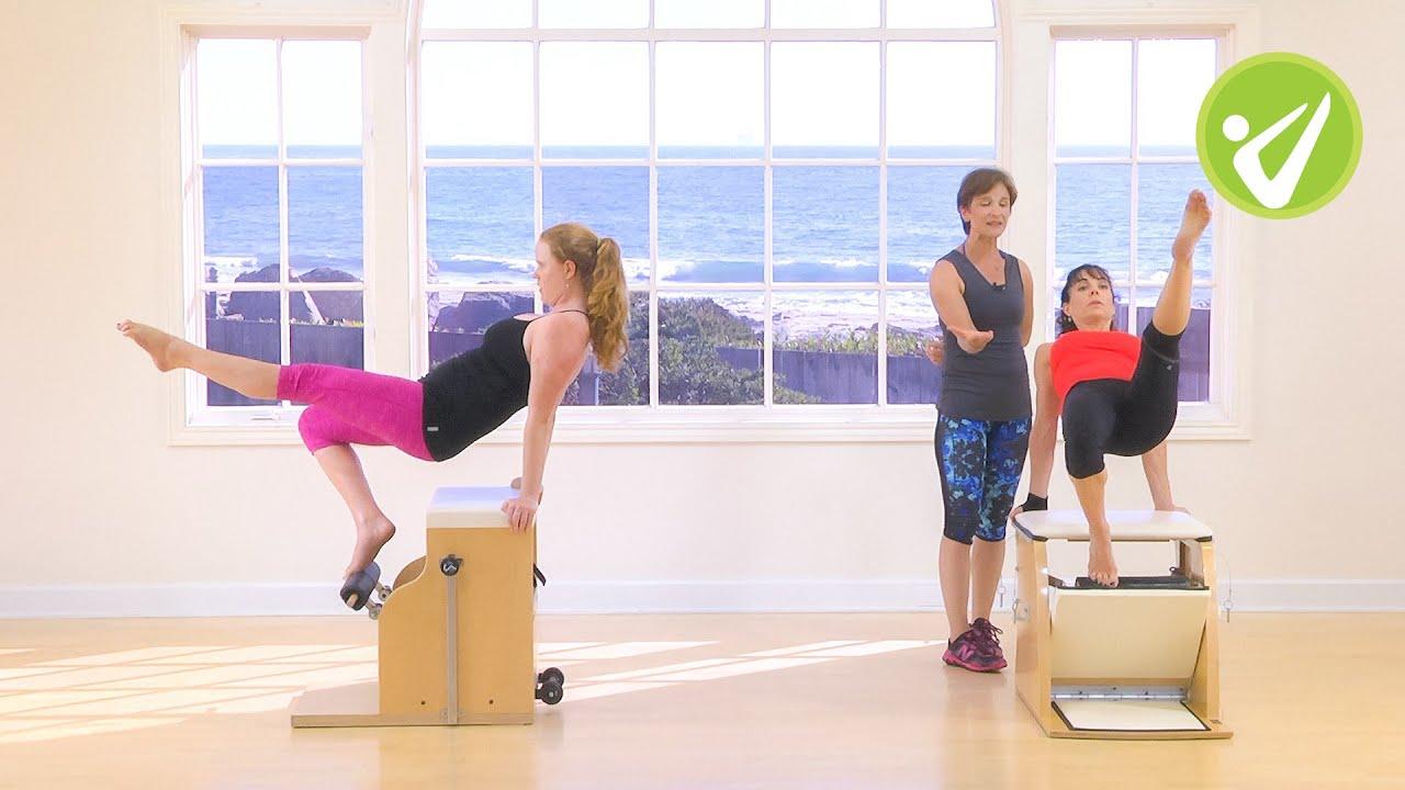 Pilates Intermediate Wunda Chair Workout Kara Wily Youtube