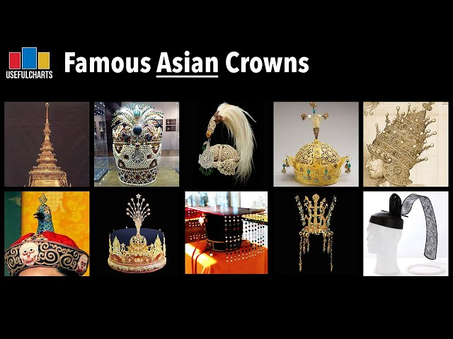 Famous Asian Crowns