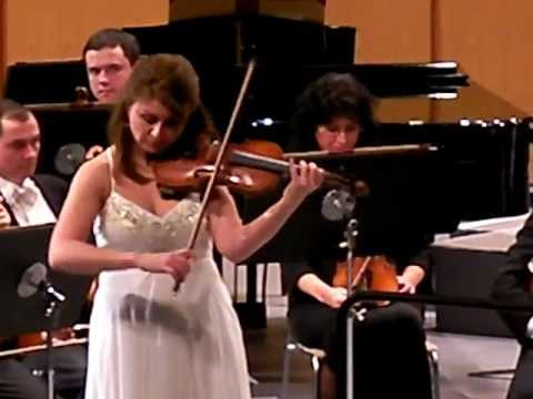 E.Ysaye Obsession from Sonata no.2 played by Natalia Lomeiko live from Germany