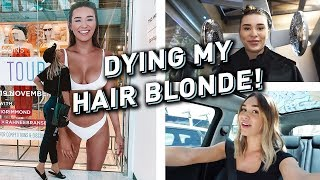 Newly created vlog video from Shani Grimmond: Dying My Hair Back Blonde | VLOG!