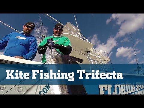 Kite Fishing Sailfish Tuna Dolphin - Florida Sport Fishing TV