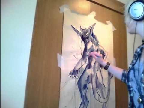 'Watch Me Paint' - Hazu'kai