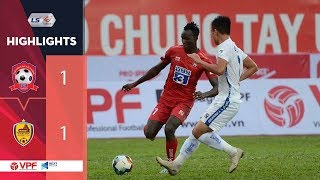 Highlights   Hải Phòng FC - Quảng Nam FC   Chia điểm kịch tính với siêu phẩm Mpande   VPF Media