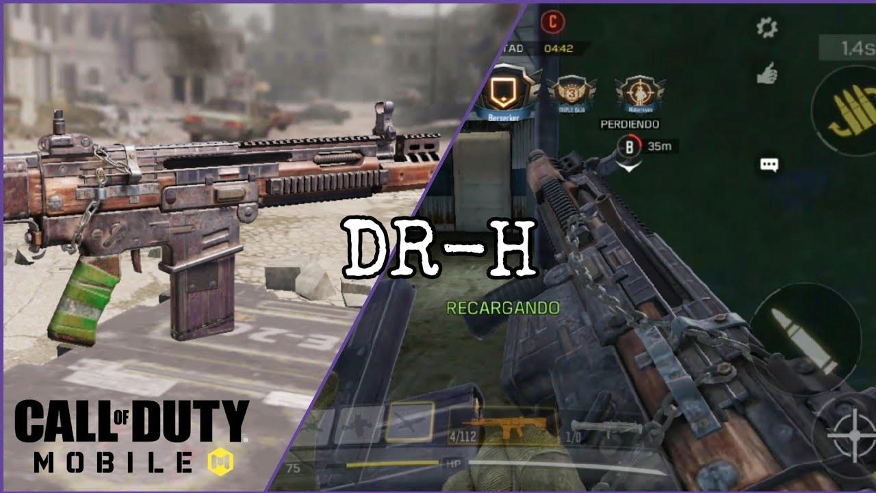 Asi Es La Nueva Dr H Call Of Duty Mobile Youtube