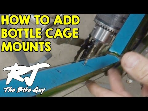 How To Add Bottle Cage Mounts To A Bike Frame