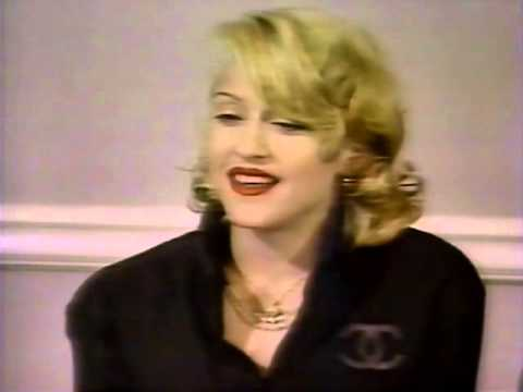Madonna - Body Of Evidence ET Interview & Press Conference