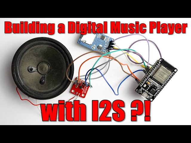 Building a Digital Music Player with I2S?! What is I2S! EB#45