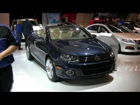 2012 Volkswagen EOS Exterior and Interior at 2012 Toronto Canadian International Auto Show