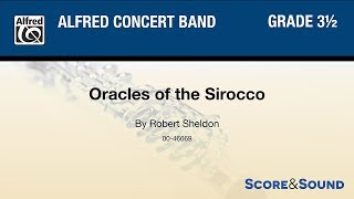 Oracles of the Sirocco, by Robert Sheldon – Score & Sound