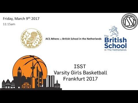 ISST Varsity Girls Basketball: ATH vs BSN