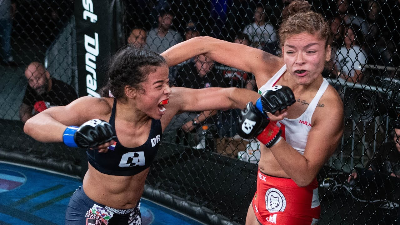 Criszaida Adames vs Marisol Ruelas Full Fight MMA | Combate Chicago