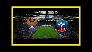 Смотреть видео Последние новости | Россия – Франция: перед товарищеским матчем на «Санкт-Петербург Арене» онлайн