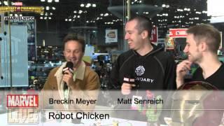 Breckin Meyer and Matt Senreich of Robot Chicken Talk Past, Present, and Future on Marvel LIVE!