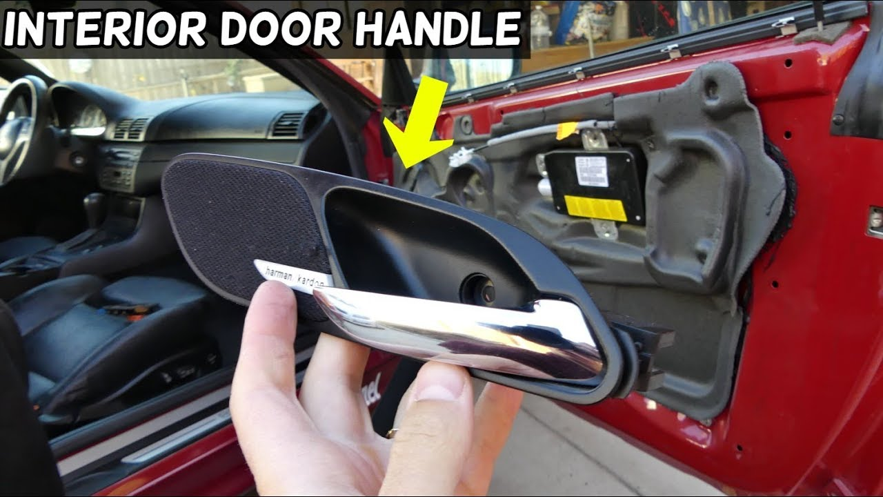 How To Replace Interior Door Handle On Bmw E46 318ci 320ci 323ci 325ci 328ci 330ci 320cd