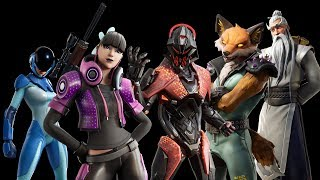 New Leaked Skins and Cosmetics V10.10 - Fortnite Battle Royale Season x