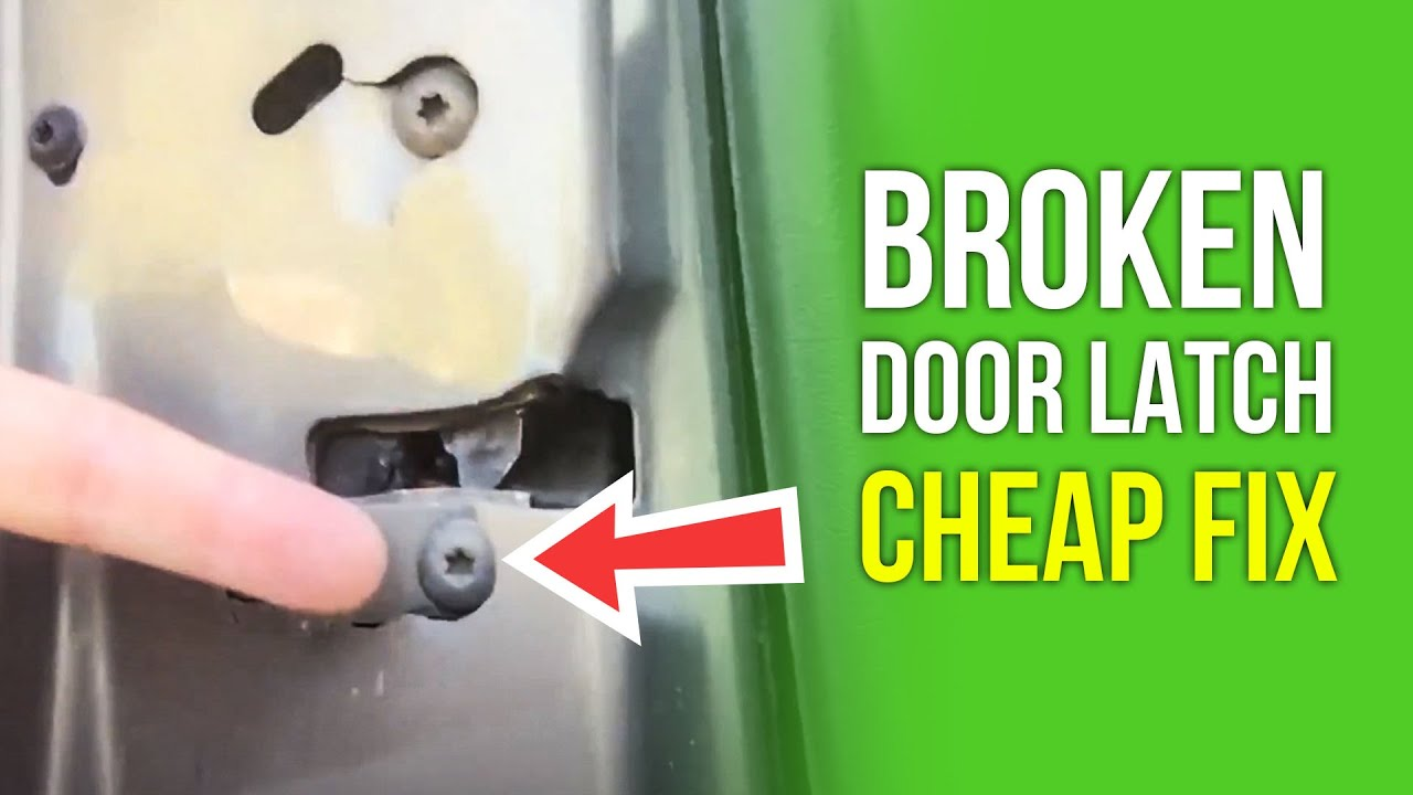 Day 219 How To Fix A Broken Jeep Grand Cherokee Door Latch Youtube