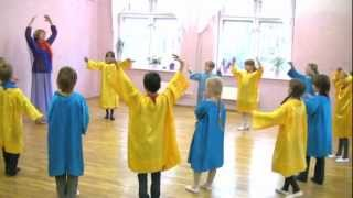 Урок Эвритмии у Одуванчиков 2Б. Школа 1060