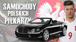 SAMOCHODY POLSKICH PIŁKARZY!!!