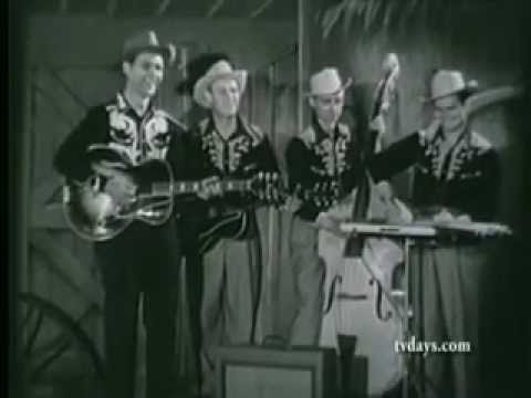Old American Barn Dance (1950's TV show w/ Bill Bailey, Homer & Jethro, Kenny Roberts)
