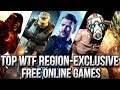 Top 5 WTF Region-Exclusive Free Online Games