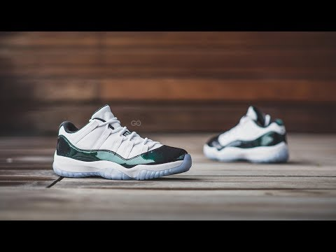"Review & On-Feet: Air Jordan 11 Retro Low ""Emerald"" (Iridescent)"