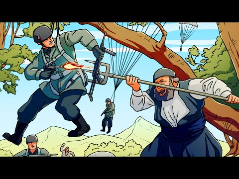 Germany's Worst Airborne Disaster: The Battle of Crete | Animated History