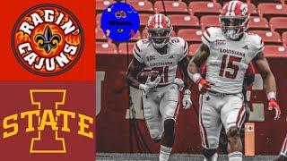 Louisiana vs #23 Iowa State | College Football Week 2 Highlights | 2020 College Football Highlights