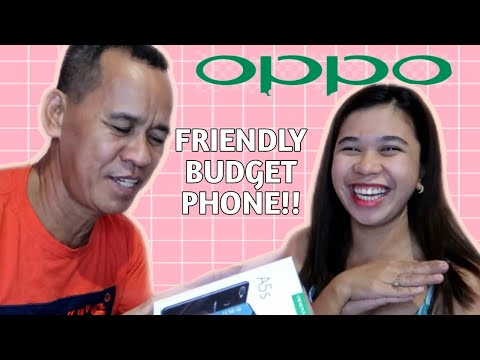 UNBOXING OPPO A5s + REVIEW ( PHONE I BOUGHT FOR DAD!! 💖)