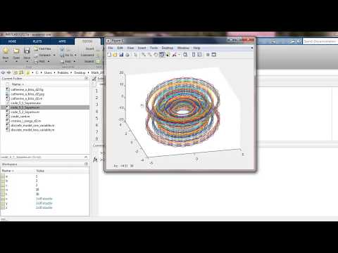 Using Matlab to plot phase portraits in 3D - YouTube