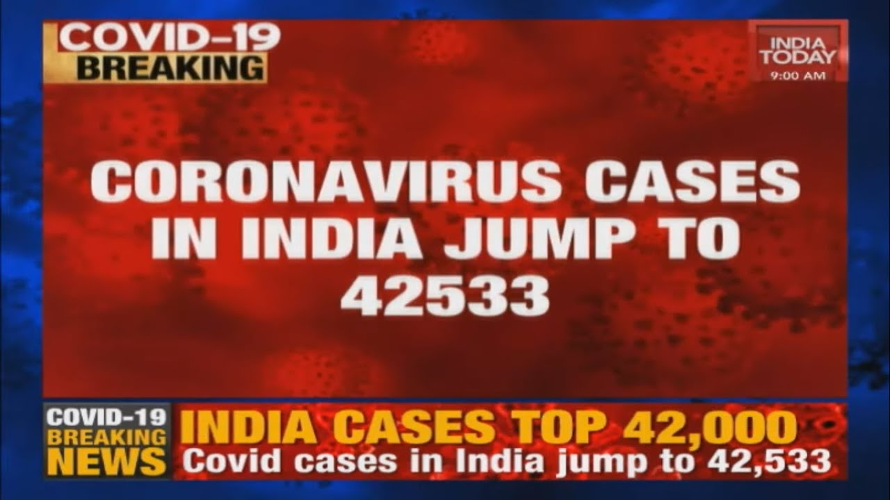 India S Coronavirus Cases Rise To 42 533 Death Toll At 1 373 Covid 19 Breaking News Youtube